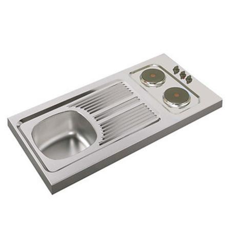 Moderna - spoeltafel met kitchenette