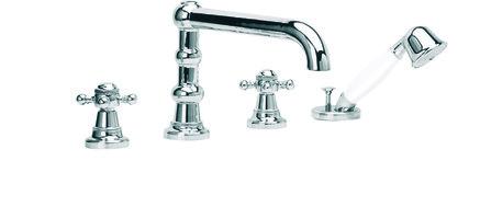 RVB - 1920-1921 - mélangeur bain/douche - montage à 4 trous
