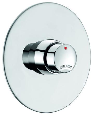 Delabie - Temposoft 2 - Robinet de douche pour encastré