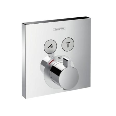Hansgrohe - ShowerSelect - set de finition - pour 2 systèmes