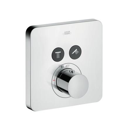 Axor - ShowerSelect - set de finition - thermostatique encastré - 2 systèmes