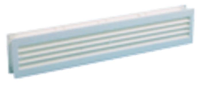 GRILLE POUR PORTE BLANC 455X90