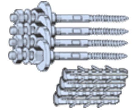 RAM - set de fixation