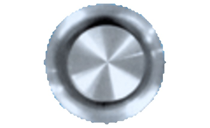 VENTILATIEROOST SUB INOX D100