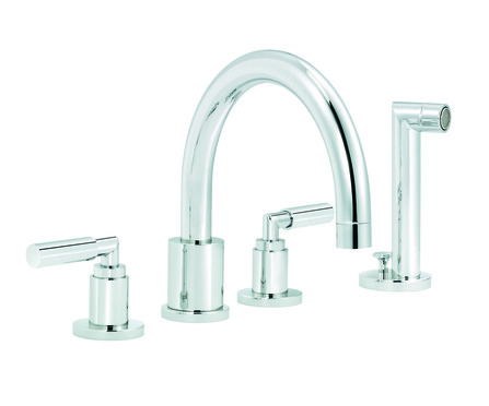 RVB - Cliff - mélangeur bain/douche - montage à 4 trous