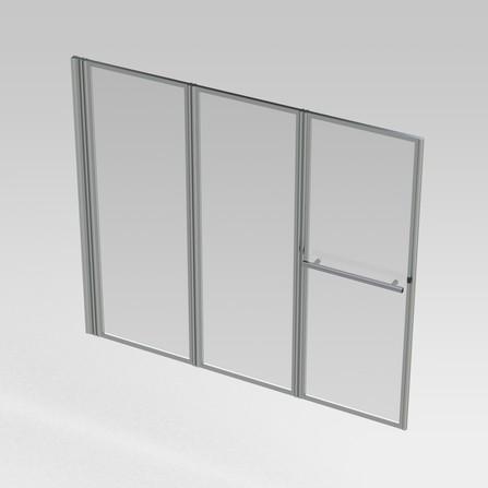 VMO PANNEL.BADW.3D 160 HL ALU