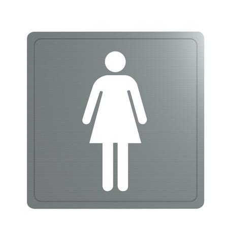 Delabie - pictogram 'vrouw'