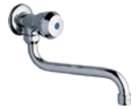 Zucchetti - Urbanis - robinet de service mural - avec bec mobile