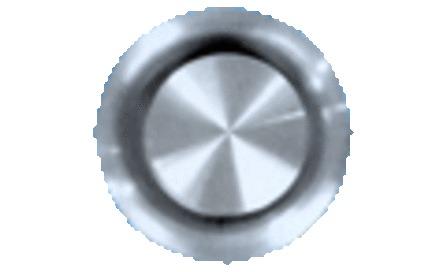 VENTILATIEROOST SUB INOX D125