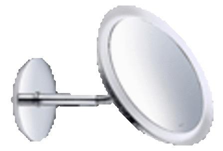 Keuco - Bella Vista - miroir grossissant - avec éclairage
