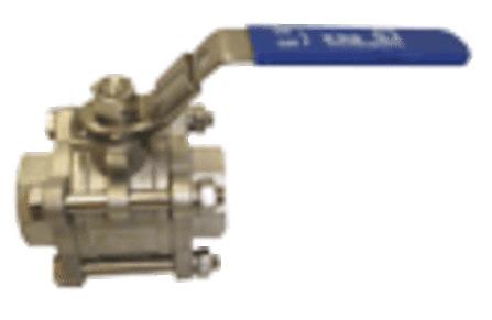 KSB - robinet à bille 3 parties - IG - Ecoline BLC 1000 - acier inoxydable