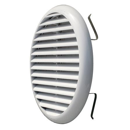 Grille de ventilation ronde - avec moutiquaire