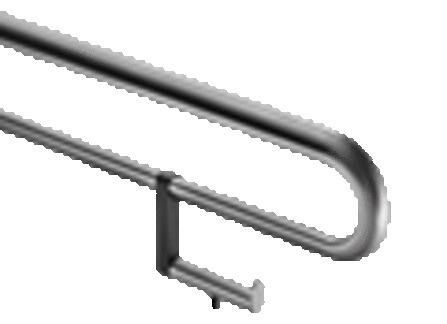 FSB - porte-rouleau pour barre d'appui