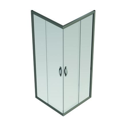 Van Marcke go - Belo - accès d'angle portes coulissantes