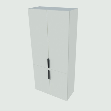 Van Marcke Origine - Novo Due - colonne haute - 80 cm - 4 portes