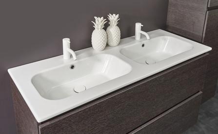 Detremmerie - Project - lavabo - 120cm - 2 bassins