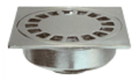Altus - siphon de sol - chromé