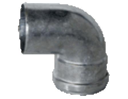 Muelink & Grol - dikwandige bocht aluminium