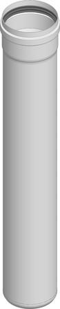 Dinak - PPH - 024 - Elément droit 450 mm