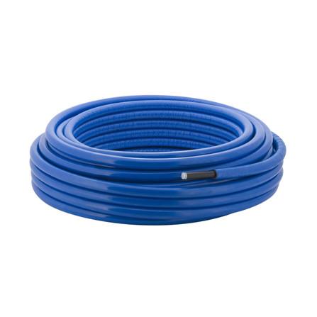 Geberit - Mepla - Tube pré-isolé 10 mm - par rouleau - bleu