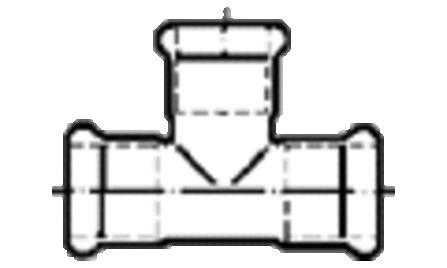 SZ INOX 31009 T-STUK 76.1