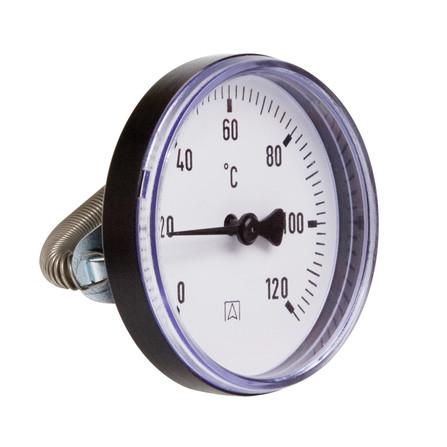 Euro-Index - thermomètre d'applique avec montage par ressort
