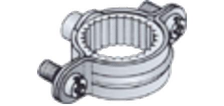Kolos collier simple M7 avec gaine en caoutchouc