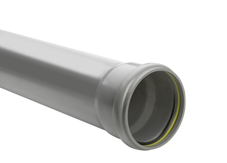Kabelwerk Eupen - Eucarigid-RE - PVC rioolbuis grijs met mof Benor