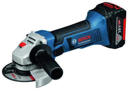Bosch - GWS - GWS 18-125 V-LI - 2x5Ah
