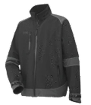 Helly Hansen - Softshell Barcelona - HH Barcelona - zwarte jacket soft shell