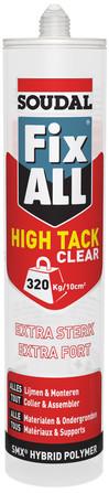 Soudal - Fix All - Fix All High Tack Clear