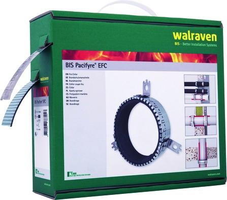 Walraven - BIS Pacifyre - Manchon coupe-feu pr. tubes synthétiques - EFC U/U