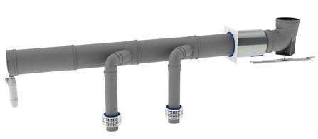 Muelink & Grol - basis cascadekit DN 150 PP