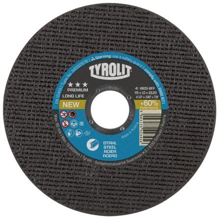 Tyrolit - Premium - disque à tronçonner acier - Longlife
