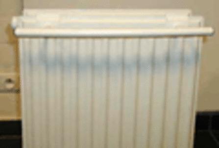 Henrad - Porte-serviettes - radiateur à panneaux horizontaux