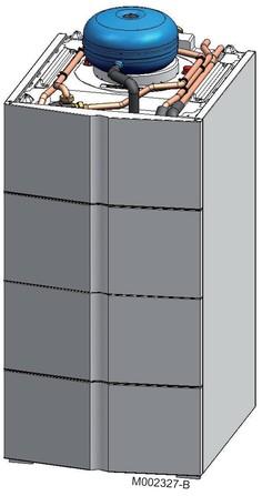 De Dietrich - Préparateur ecs 200 SSL Solaire pour chaudière GSCX