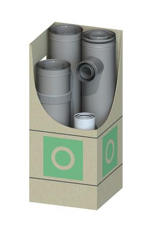Dinak - Dinagas CLV+ 316L/304 - OBG - Kit verdieping