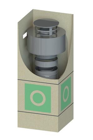 Dinak - Dinagas CLV+ 316L/304 - OBH - Kit de finition