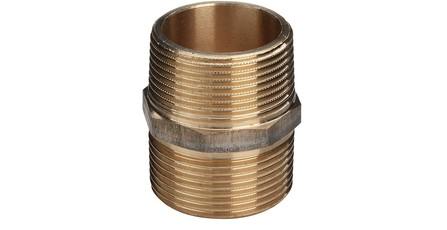 """Viega - mamelon double - bronze - 1/4"""" MM"""