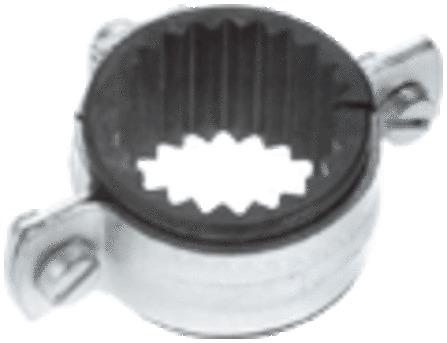 Walraven - OBO 2998 - OBO beugel M8 met rubber inlage