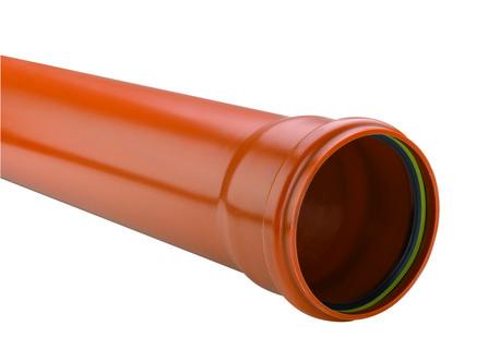 Kabelwerk Eupen - Eucarigid-RE - PVC rioolbuis oranje met mof Benor