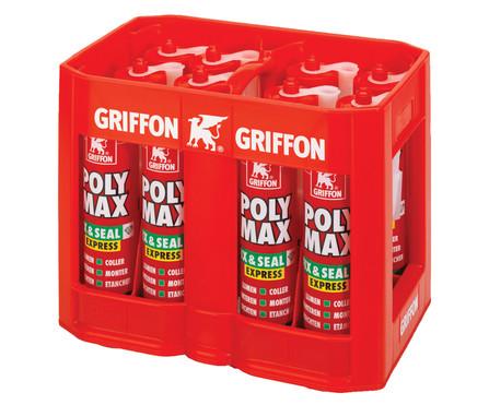 Griffon - krat-actie met silicone