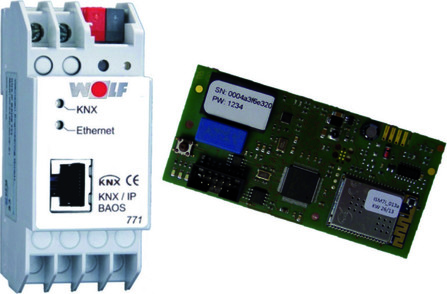 Wolf - KNX - set interface