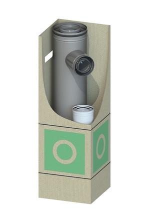 Dinak - Dinagas CLV+ 316L/304 - OBK - Kit de démarrage