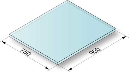 De Dietrich - Plaque de sol pour Quadralis/Tilia