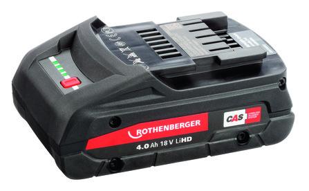 Rothenberger - RO BP18/4 Li-HD