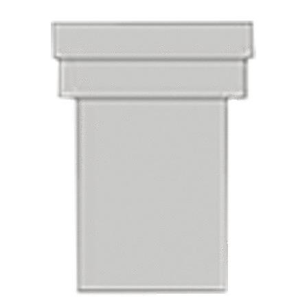 Nicoll - manchon WC droit