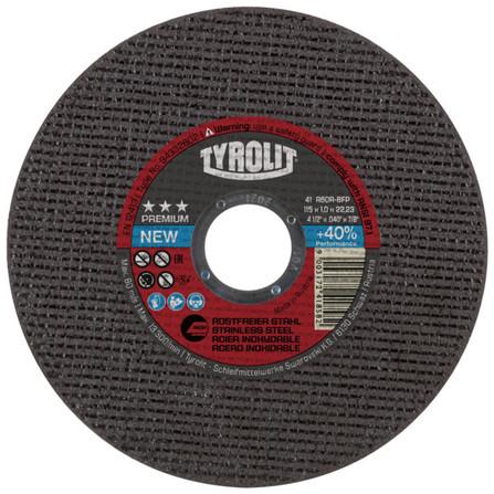 Tyrolit - Premium - disque à tronçonner inox
