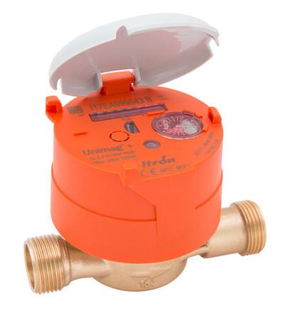 Itron - Unimag TU6 - Unimag compteur d'eau chaude TU6 1/2-3/4