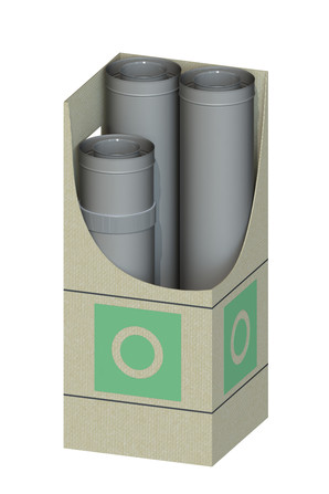 Dinak - Dinagas CLV+ 316L/304 - OBL - Kit verdieping blind
